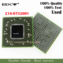 216-0752001 100% test work very well reball with balls BGA chipset for laptop free shipping with full tracking message