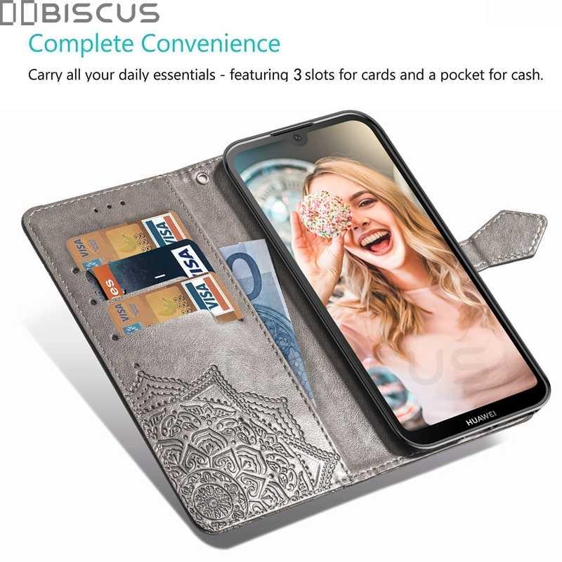 لهواوي الشرف 8 S حالة جلد الوجه حافظة لهاتف Huawei Honor8S KSE-LX9 محفظة باج حامل حامل بطاقة المغناطيس Fundas كوكه