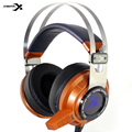 Headsets Xiberia V2 Gaming Headphones with Microphone Game Earphone Glowing LED USB Noise Canceling for PC Computer Game Orange