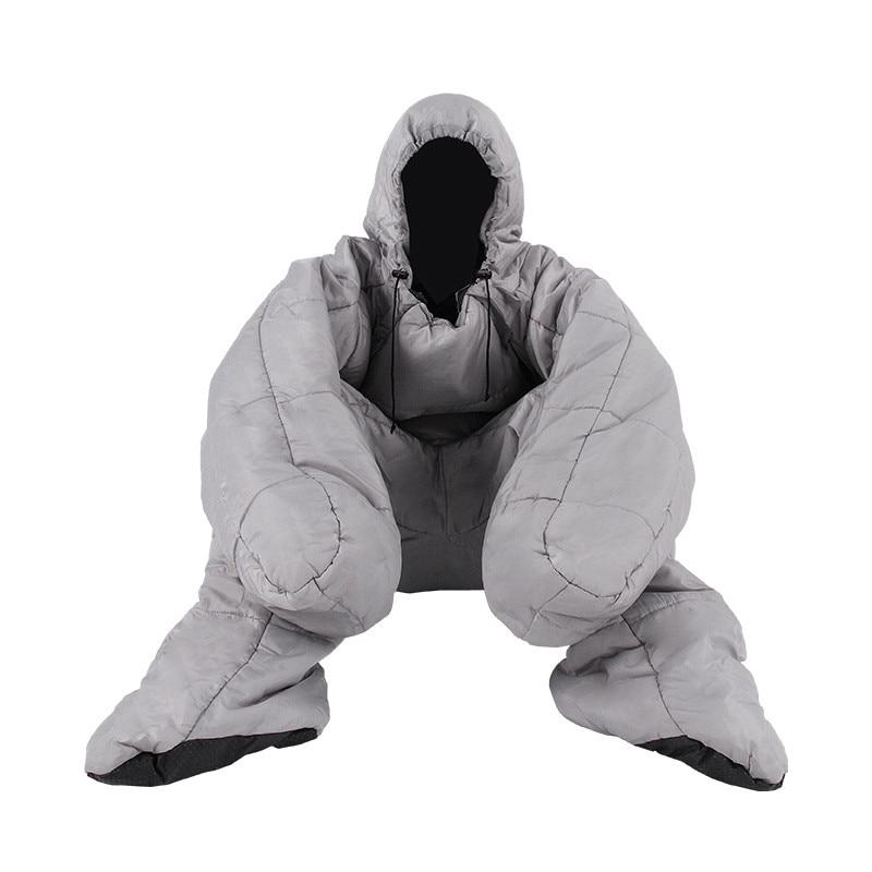 humanoid sleeping bag