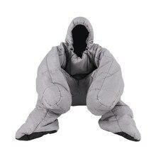 Sac de couchage humanoïde pour lextérieur et lextérieur pour adultes, poids 1.9kg, pour camping, repos en intérieur, utilisation, automne et hiver, 2 tailles