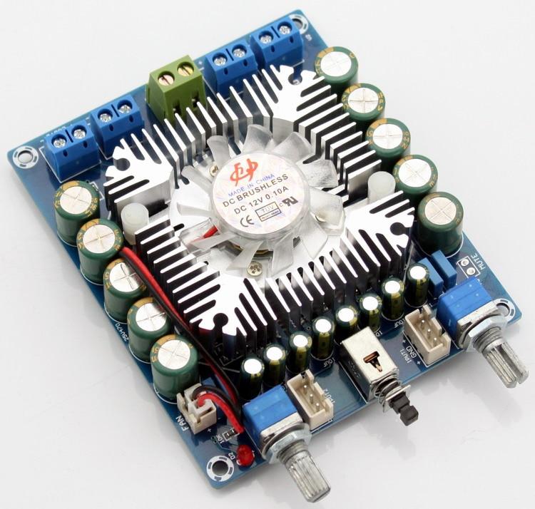 2018 New 50W * 4 DC12V TDA7850 4.0 Channel Mini HIFI Car Audio Amplifier Board