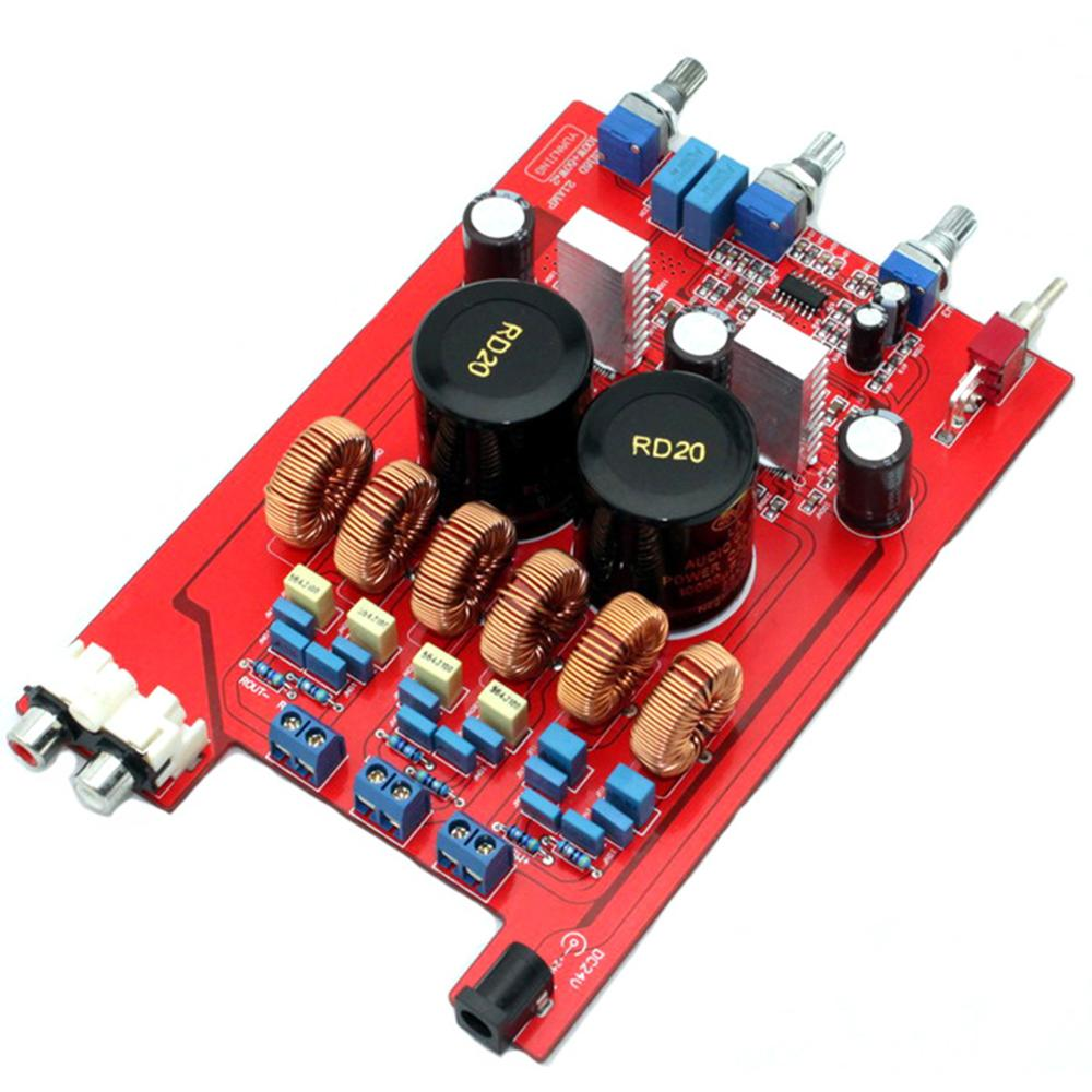TPA3116 2.1 classe D 2*50W + 100W 10000UF * 2/35V carte d'amplificateur de puissance d'amplificateur de luxe YJ00287