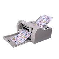 Bilgisayar ve Ofis'ten Kağıt Kesme Makinesi'de A3 + otomatik etiket kesme makinesi kendinden yapışkanlı die kesme makinesi araba yapışkan film kağıt kesme makinesi Otomatik besleme kağıt