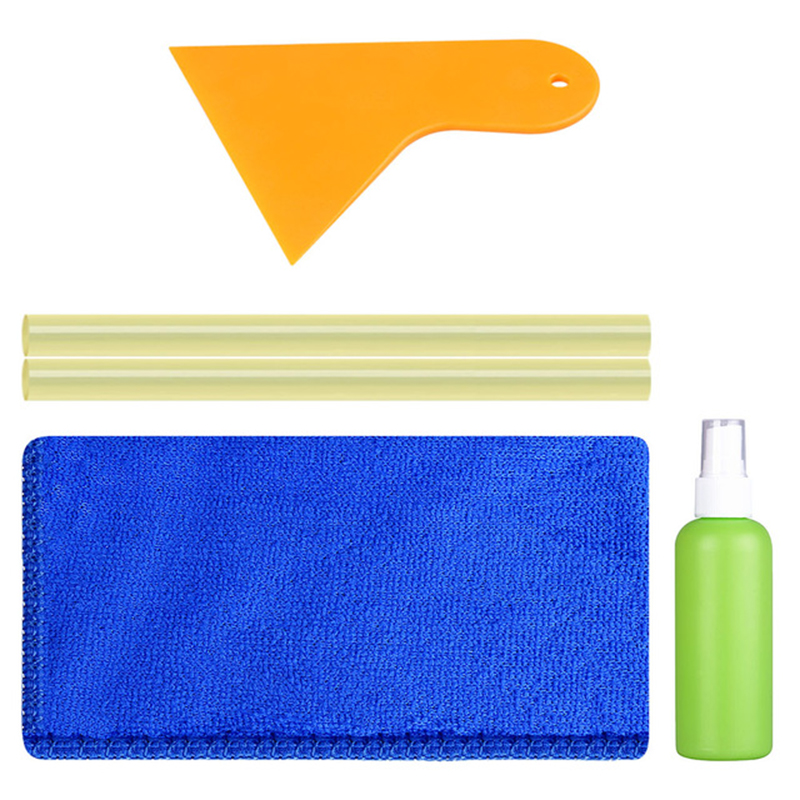 Super PDR Car Cleaning Tools Set Cloth Bottle with Hot Melt Glue Sticks Paintless Dent Removal Tools Dent Repair Hand Tool Sets