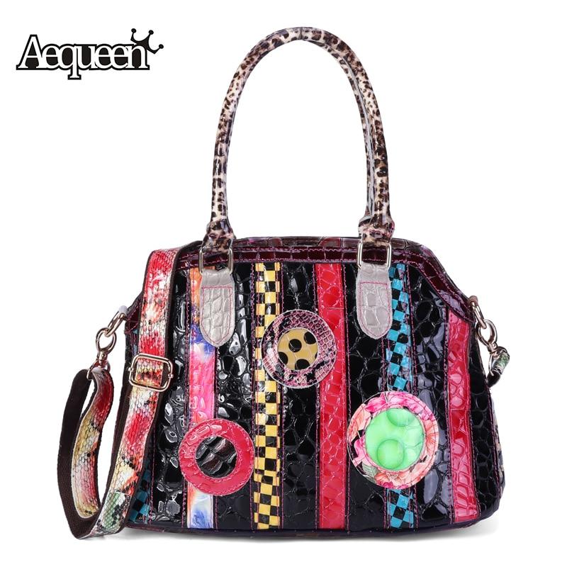Shoulder Bags Diligent Aelicy 2018 Hot New Fashion Light High Quality Women Girls Tassel Crossbody Bags Leather Handbag Alligator Pattern Shoulder Bag