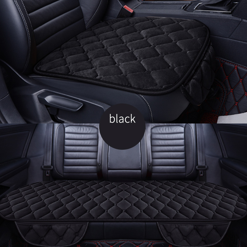 Front+Rear 5 Seats Plush car seat covers For citroen c5 c6 nissan qashqai j10 fiat linea chrysler 300c opel astra j h g styling