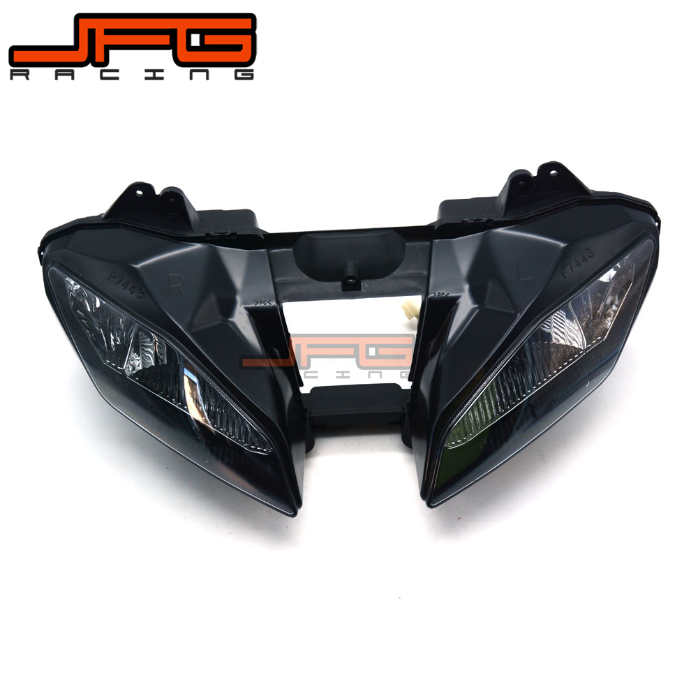 Clear Front Headlight Headlamp Street Fighter for Yamaha YZF R6 YZFR6 YZF-R6 2008-2012 2008 2009 2010 2011 2012 head lamp headlight fit yamaha yzf r6 yzf r6 2008 2009 2010 2011 2012 2013 2014 2015