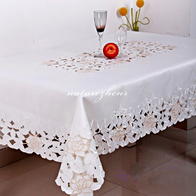 hbz12 flower palace tablecloth table cover cloth lace pastoral floral fabric rectangle squre. Black Bedroom Furniture Sets. Home Design Ideas