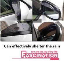 Специальное предложение автомобильный Стайлинг дождь брови для Renault Megane 2 3 Duster Logan Clio 4 3 Лагуна 2 Sandero Scenic 2 Captur Fluence Kan