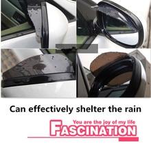 Special Offer Car Styling Rain Eyebrow FOR Renault Megane 2 3 Duster Logan Clio 4 Laguna Sandero Scenic Captur Fluence Kan