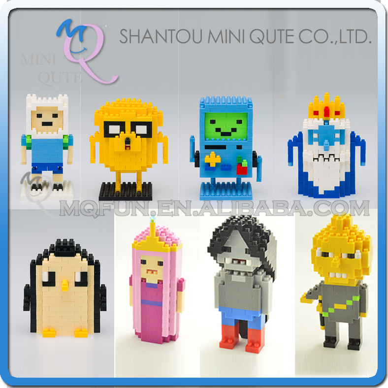 Mini Qute WTOYW ATOM Adventure time Finn Jack The Ice King
