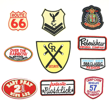 2018 New 1 pcs iron on patches Beautiful Exquisite handmade DIY the patch clothing accessories D-033