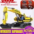 DHL 20007 Technic Auto Serie Compatibel Met 8043 graafmachine Model Building Kit Blokken Baksteen Motor Speelgoed Voor kinderen als Geschenk model