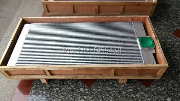 купить WJIER ZR275 Oil free Atlas Copco cool air shell and tube oil cooler 1616701209
