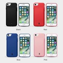 Новинка 4500 мАч/7000 мАч зарядное устройство чехол для iPhone 6 6s 7 8 батарея чехол аккумулятор банк питания телефонные чехлы для iPhone 6 6s 7 8 Plus
