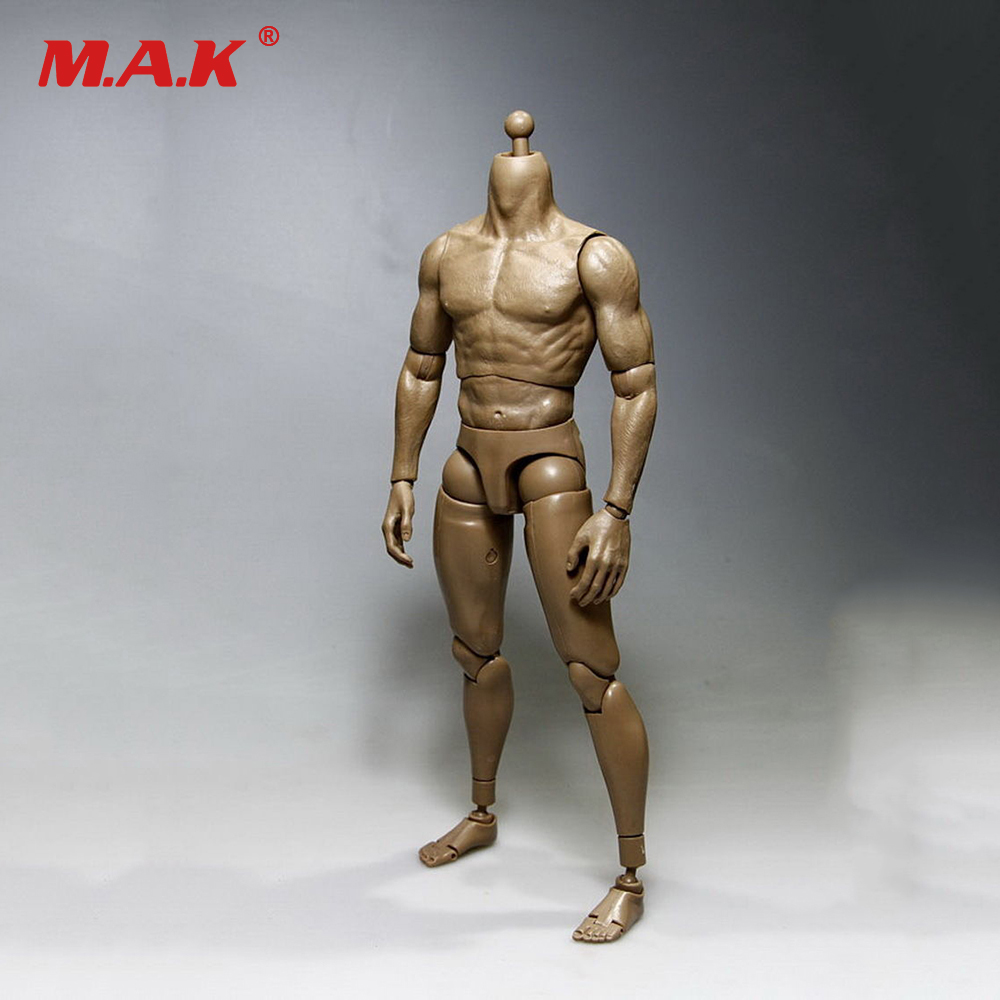 V-1M Model 1/6 Scale Nude Muscular Body V1-M Male Action Figure Doll Toys Fit HT Hot Toys Head Sculpt Collectible Toys In Stock 1 6 male head sculpt leonardo wilderness hunter hair head carving for12 action figure body doll toys accessories