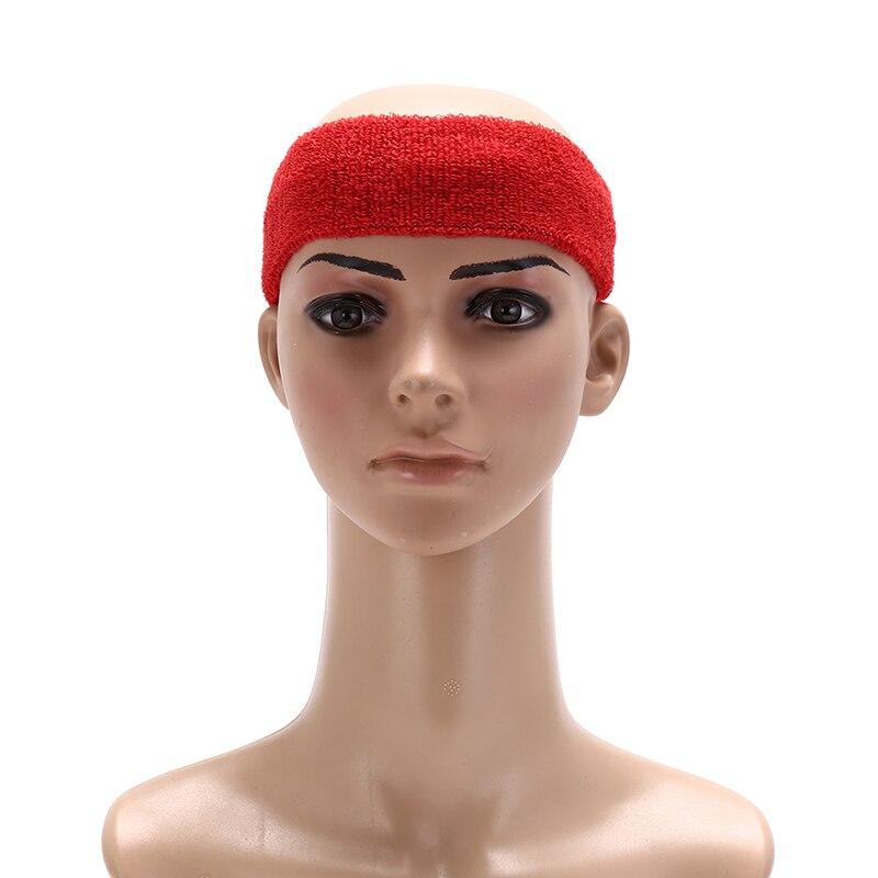 @1  Тренажерный зал Йога Спорт Стрейч Оголовье Повязка на голову Универсальный Sweatband Баскетбол Hairb ★