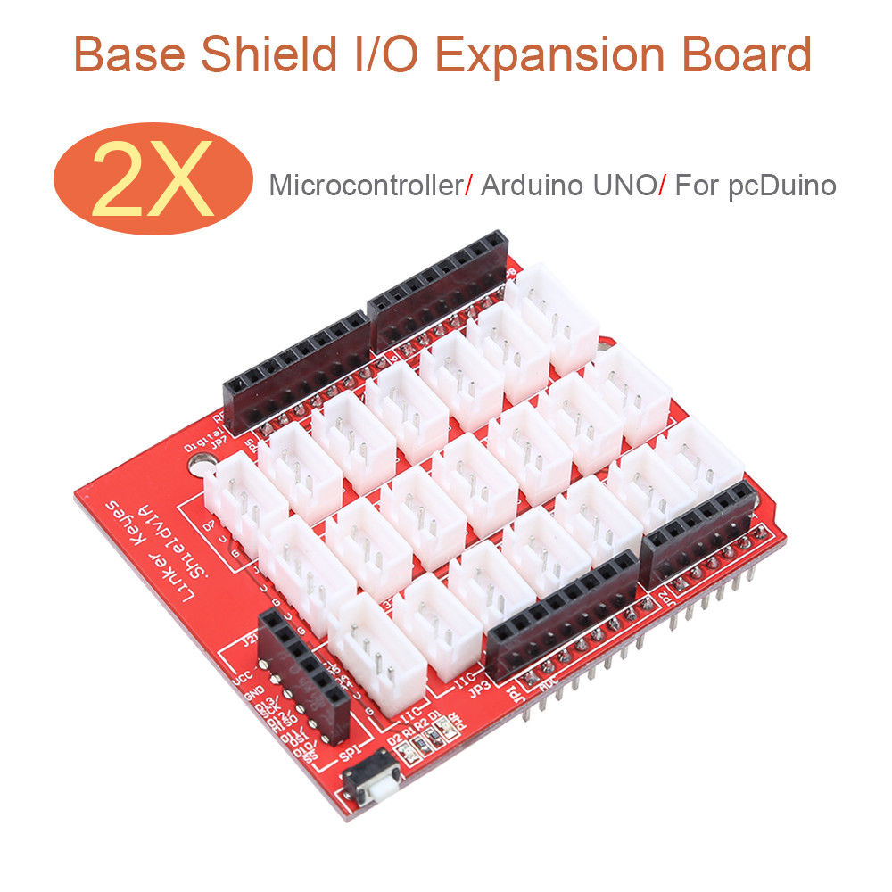 Keyes Base Shield Expansion I/O Board Module 2pcs For Arduino UNO Digital Keyes Linker