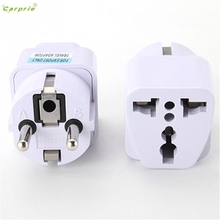 CARPRIE Electrical Socket Universal UK US AU to EU AC Power Socket Plug Travel Charger Adapter