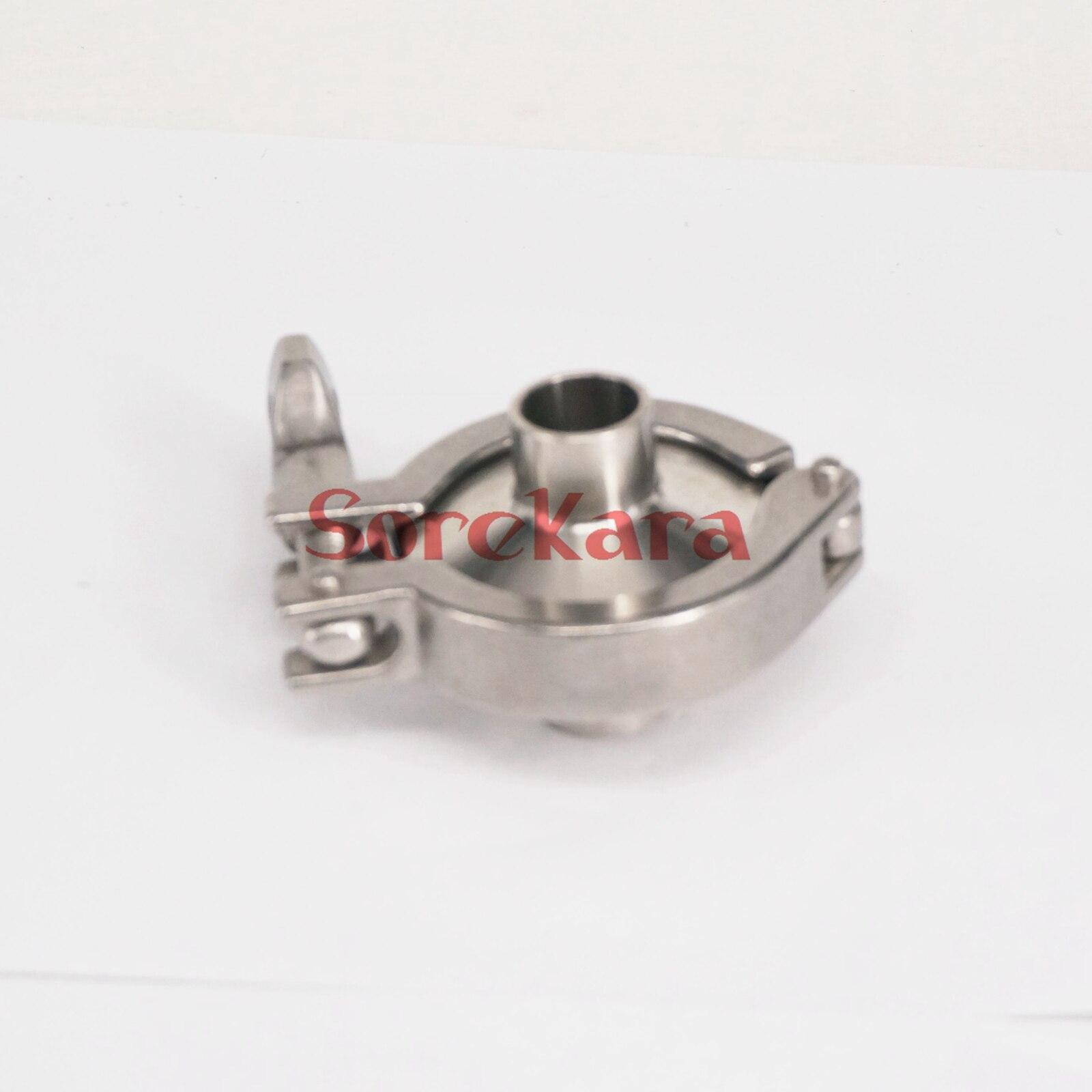 っUn conjunto 19mm o/D sanitario Tri clamp soldadura ferrule + Tri ...