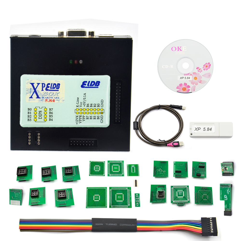 2018 New <font><b>XPROG</b></font> V5.55 V5.70 V5.72 V5.74 V5.75 V5.84 Black Metal Box Better tXPROG <font><b>M</b></font> V5.70ECU Programming Interface <font><b>Xprog</b></font>-<font><b>M</b></font> V5.70 image