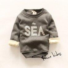 2015 Newest 2-7y Kids Cotton Long Sleeve Baby Boys Girls Clothing Children Sweatshirts