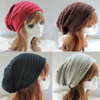 Wholesale Fashion Winter Hat Beanie Knitted Casual Caps Bone Twist Hats For Women Feminine Hip Hop