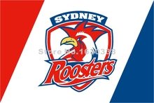 Sydney Roosters Flag 3ft X 5ft National Rugby League NRL Banner