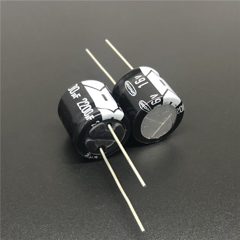 5Pcs/20Pcs/100Pcs 2200uF 16V Japan UNICON FF Series 16x15mm 16V2200uF Low Profile Electrolytic Capacitor
