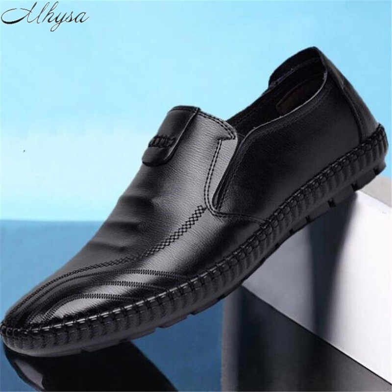 Mhysa 2019 new spring autumn men's flat shoes casual shoes lightweight comfortable men's shoes non-slip fashion sneakers  L171