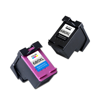 2set  For HP 680 Ink Cartridge  Replacement For HP680 680xl Deskjet 3835 2135 3635 2136 2138 3636 4535 4536 4538 4675 Printer