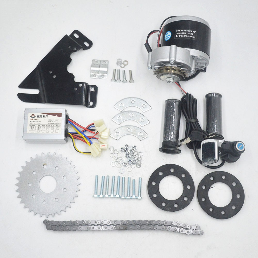 24V 36V 350W electric bike Bicycle Motor conversion Kit electric Derailleur Engine Set for Variable Multiple