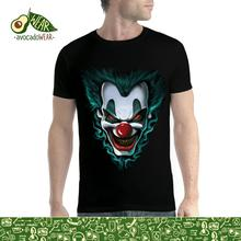 Evil Clown Freakshow Men T-shirt XS-5XL NewStreetwear Funny Print Clothing Hip-Tope Mans T-Shirt Tops Tees Hot Sale Men T Shirt floral skull women t shirt s 3xl newstreetwear funny print clothing hip tope mans t shirt tops tees hot sale men t shirt fashion