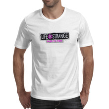 Life Is Strange Before The Storm T Shirt Video Game Cool Style Rock T-shirt Anime Casual Design Unisex Tee life is strange before the storm особое издание xbox one