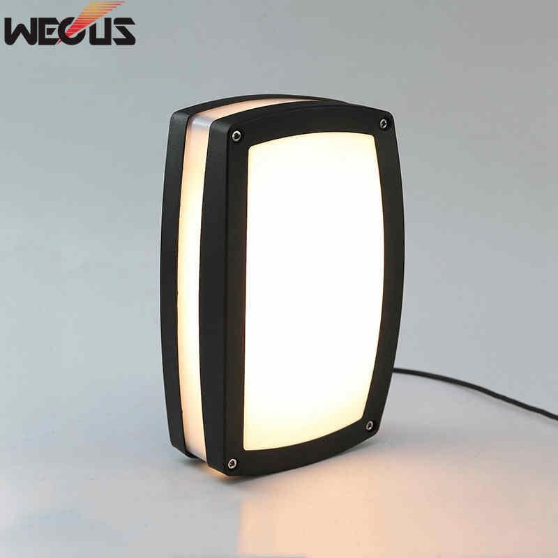 (wecus) Led Im Freien Wasserdichte Licht, Moderne Minimalistischen Tür Decke Lampe, Outdoor Balkon Treppen/gang Tür Lichter Up-To-Date-Styling