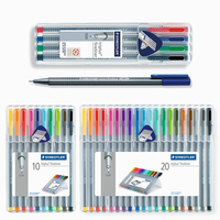 Staedtler 334 SB Triplus Fineliner Fiber Pen Color Pen Gel Pen 0 3mm 4 10 20