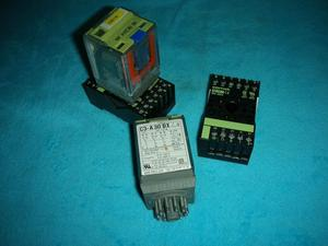1PC USED Original Spanish RELECO relay C3-A30DX with base ec-11(China)