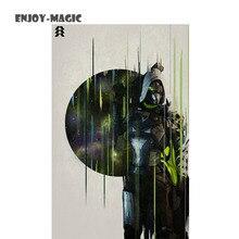 Destiny Shooting Game Character Titan Hunter and Warlock Art Print 45*28 Cm Canvas Poster Image Wall Decorative Painting 5