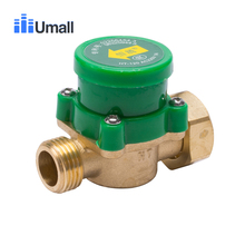 HT120 резьба G3/4 Автоматический Датчик расхода воды переключатель полный медь электронный давление защиты управления циркуляционный насос клапан часть