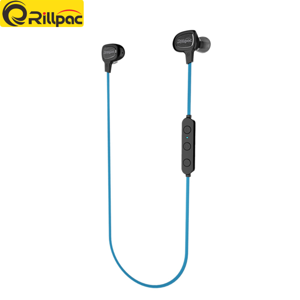 Rillpac BT10 Wireless Bluetooth Earphone 4.1 Bluetooth Headset with Noise Cancelling MIC for IPhone Samsung Xiaomi Smart Phone
