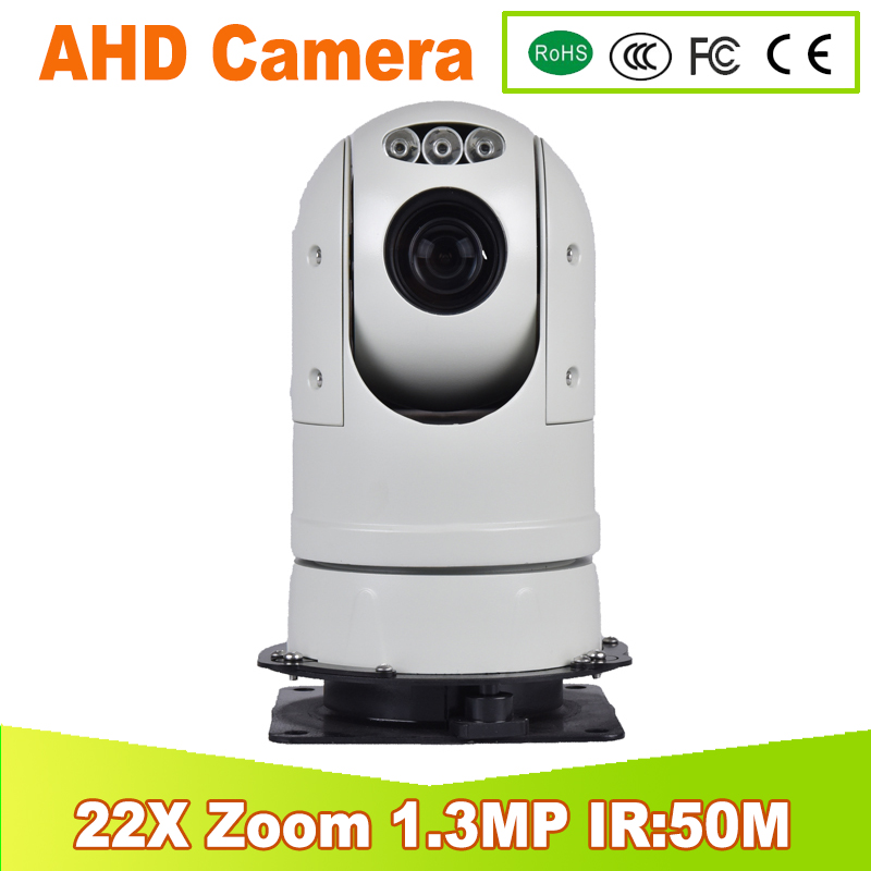 Full HD PTZ Camera 22X Zoom 4.3-94.6mm Lens 50m Infrare IR Night Vision High Speed AHD PTZ Dome Camera 1.3 Megapixel 7 ptz middle high speed dome camera 1080p full hd 33x zoom ir 120m infrared night vision 4 in 1 hd ahd tvi cvi signal output