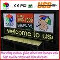 P6 Открытый RGB полноцветный СВЕТОДИОДНЫЙ дисплей размер 25x55 дюймов реклама видео, изображения и текст led знак