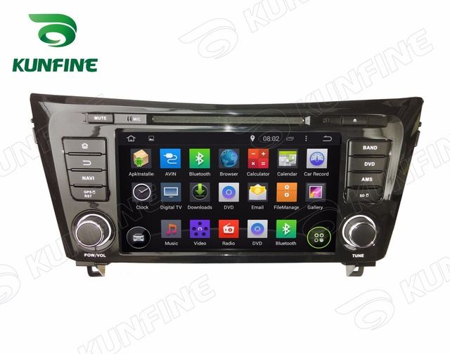 Quad Core 1024*600 Android 5.1 Reproductor de DVD Del Coche de Navegación GPS Estéreo Del Coche para QashQai/X-trail 2014 de Radio 3G Wifi Bluetooth