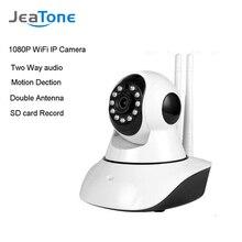 JeaTone 1080P IP Wifi Camera Wireless Home Security Camera Surveillance Camera Audio Record Baby Monitor HD