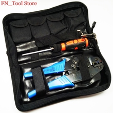 FASEN FSK 30JN 0 5 6mm2 MINI COMBINATION TOOLS CRIMPING PILER screwdriver Pressure line module