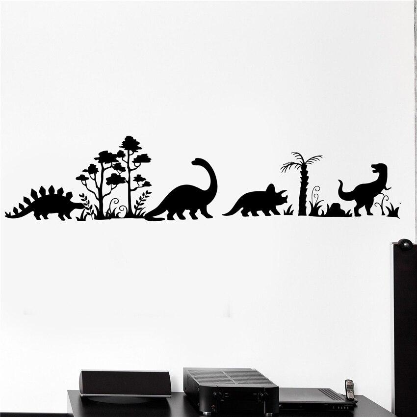 Jurassic Park Personalized Wall Decal Dinosaur Wall Decor Art Mural Vinyl Sticke