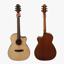40 Size Solid Spruce Top  Laminated Mahogany Body Acoustic Guitar Model SG02SMC-40