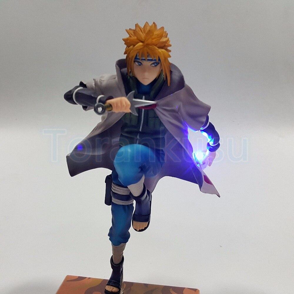 Naruto Action Figure Namikaze Minato DIY  Led Light Rasengan Display Toy Uzumaki Naruto Shippuden Figurine Sasuke Uzumaki DIY98