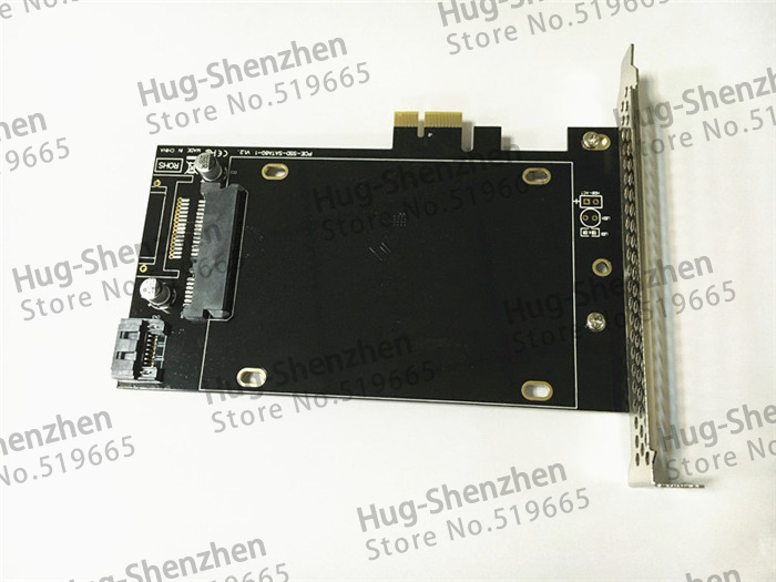 New DEBROGLIE SATA III to PCI E X1 Expansion adapter card for Mac Pro 3 1 5 1 OSX10 8 10 14 for windows in Add On Cards from Computer Office
